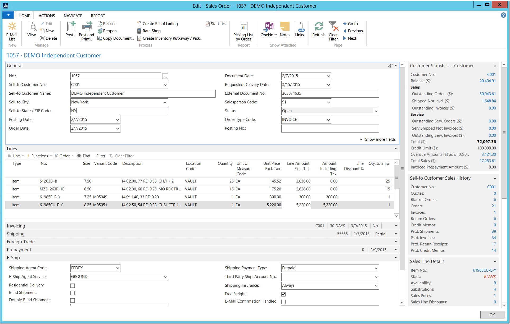 Sales Order Management Software